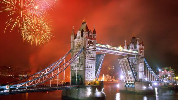 Встреча Нового года в Британии