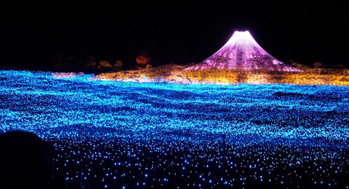 Фестиваль света в Японии