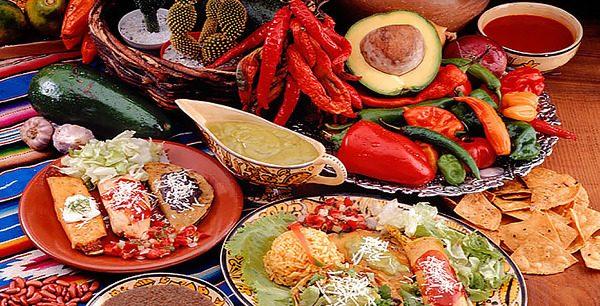 меню для мексиканской вечеринки