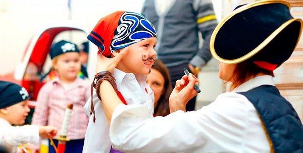 лагерь праздник день пирата