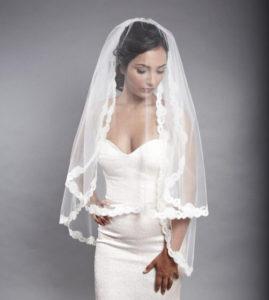 вуаль невесты