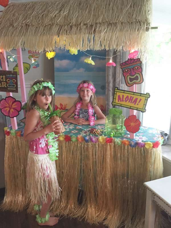 гавайские леи своими руками
