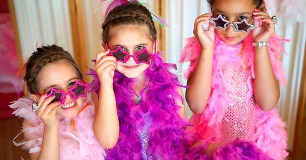 гламурная вечеринка для девочек