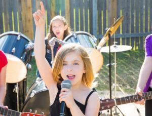 детская рок вечеринка