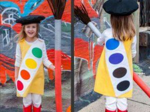 детский костюм художника своими руками