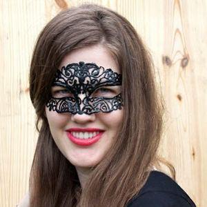 простая маскарадная маска