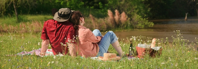 место для романтического пикника