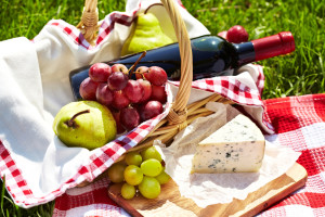 продукты на пикник