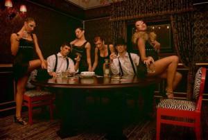 итальянская вечеринка в стиле мафии