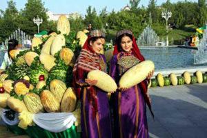 День дыни в Туркменистане