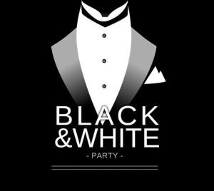 вечеринка в черно-белом стиле