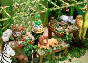 вечеринка в стиле джунгли