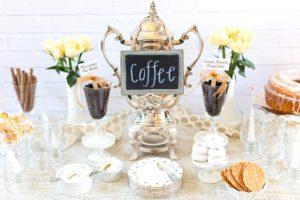 кофейная вечеринка фото