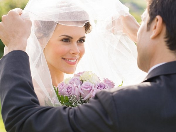 вуаль на английской свадьбе