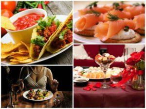 кухня для романтического ужина