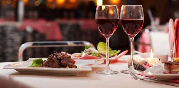 заказать ресторан для романтического ужина