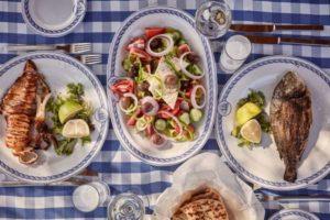 ужин по-гречески