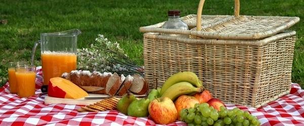 весеннее меню для пикника