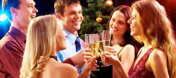 лучшая новогодняя вечеринка
