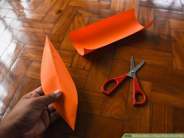 шапка робин гуда из бумаги