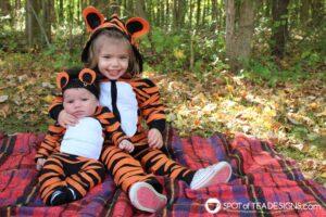 как сделать костюм тигра