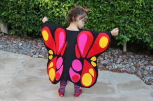 костюм бабочки для девочки своими руками