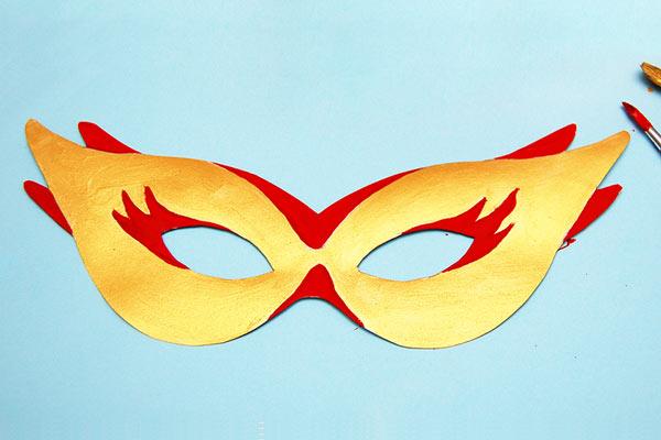 маскарадная маска своими руками