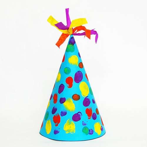 колпак на день рождения