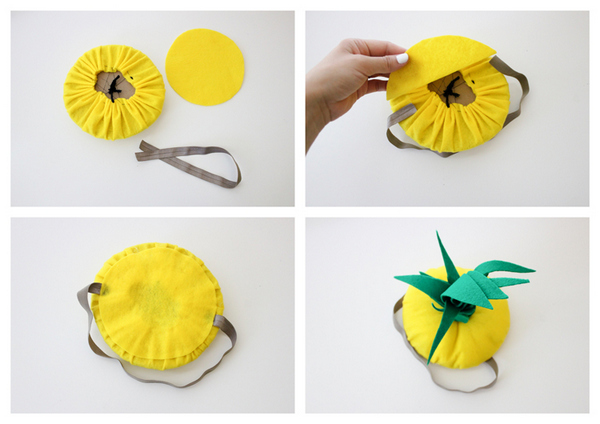 костюм ананаса своими руками