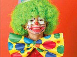 макияж клоуна для детей