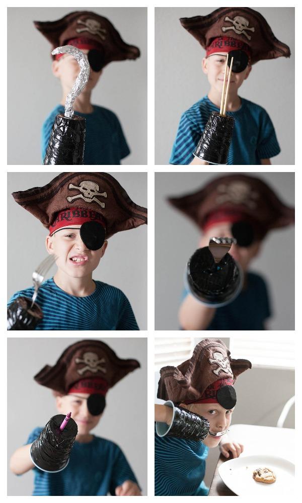 крюк пирата своими руками
