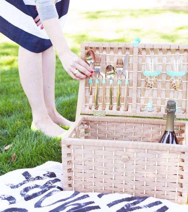 корзина для пикника своими руками