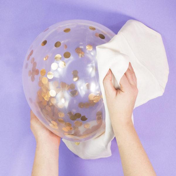 воздушные шары с конфетти