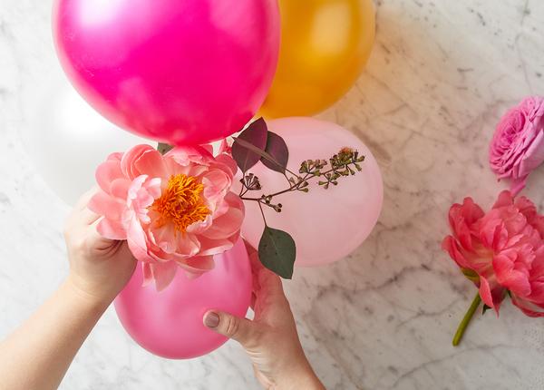 гирлянда из воздушных шаров своими руками