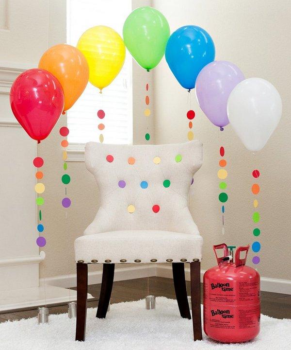 вечеринка воздушными шарами