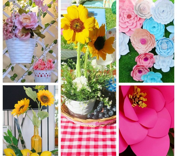 детский праздник на тему цветов
