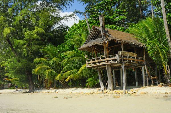 Ко Чанг на Андаманском побережье в районе Ранонг