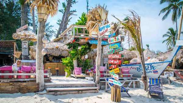 пляже Санрайз таиланд бары