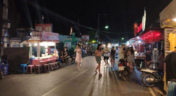 пешеходная улица Пай Таиланд