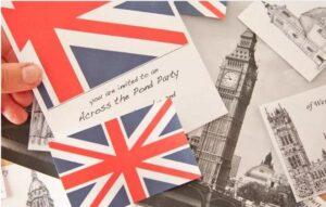 вечеринка в Британском стиле