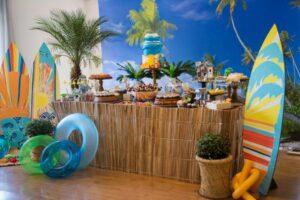 пляжная вечеринка дома