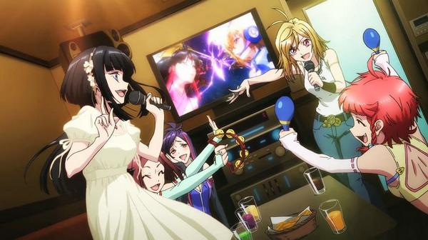 вечеринка в стиле аниме